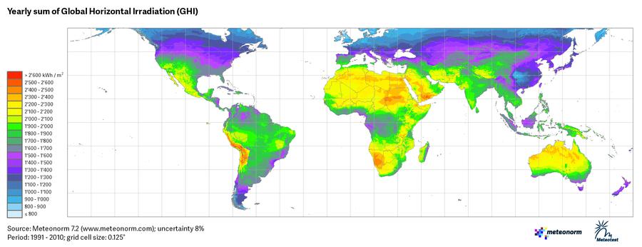 Maps - Meteonorm (en)